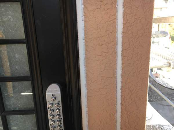 岡崎市 T様邸 外壁ムキコース 外壁塗装 打設完了
