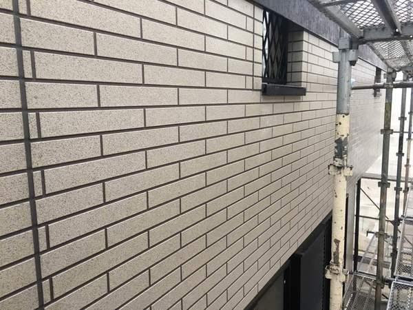 安城市F様邸 外壁ムキ・RSダイヤモンドコース ダイヤモンド下塗り②