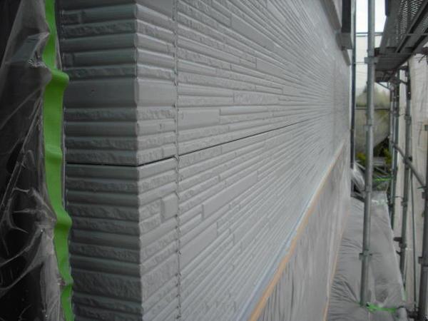 豊田市 F様邸 戸建 外壁塗装 無機コースSPR下塗り完了