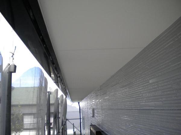 豊田市 F様邸 戸建 外壁塗装 無機コース上塗り完了