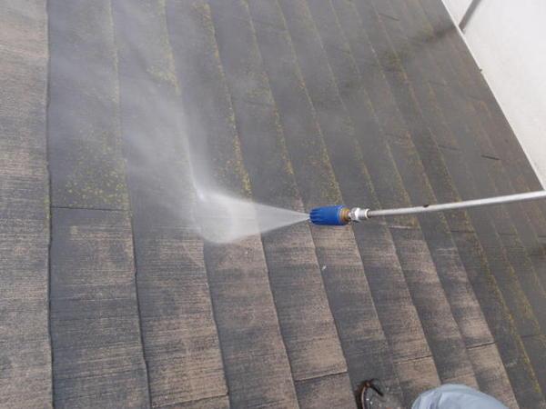 安城市 M様邸 外壁塗装 屋根塗装 無機コース高圧洗浄150キロ