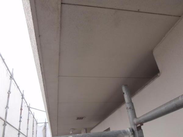 安城市 M事務所 外壁塗装 屋根防水トップコート 無機コース施工前壁2