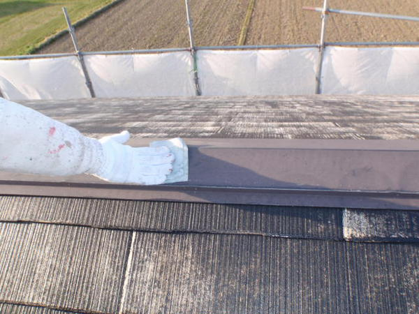 安城市 M様邸 外壁塗装 屋根塗装 無機コースケレン工事