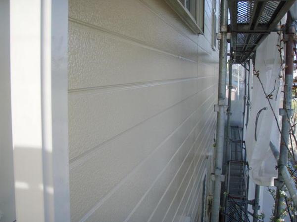 安城市 M様邸 外壁塗装 屋根塗装 無機コース 上塗り完了1