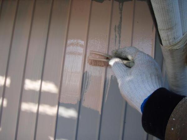 三好市 Y様邸 戸建 外壁塗装 屋根瓦止め漆喰 無機塗装コース下塗り錆止め
