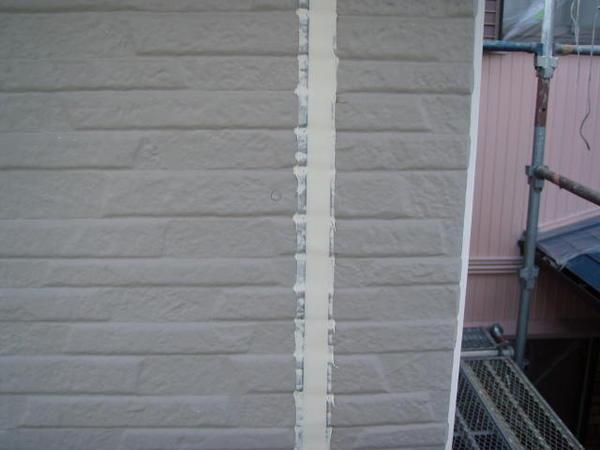 三好市 Y様邸 戸建 外壁塗装 屋根瓦止め漆喰 無機塗装コースシーリング処理