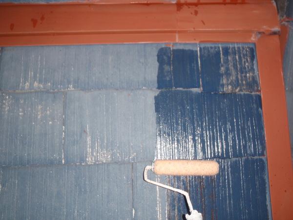 名古屋市 A様邸 戸建 外壁塗装 屋根塗装 無機・フッソコース屋根シーラー塗装