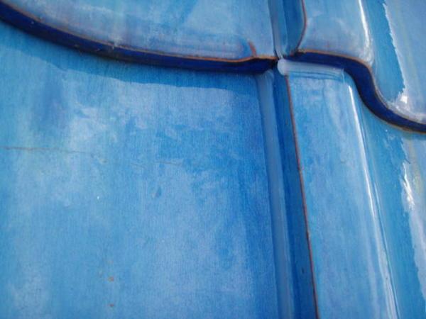 三好市 Y様邸 戸建 外壁塗装 屋根瓦止め漆喰 無機塗装コース屋根瓦止め施工完了
